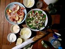 Glamping food BYO