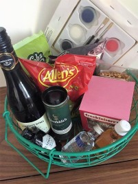 Fun minibar goodies with no prices