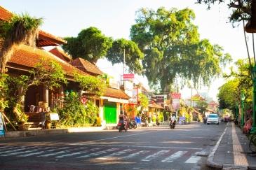 Ubud main street